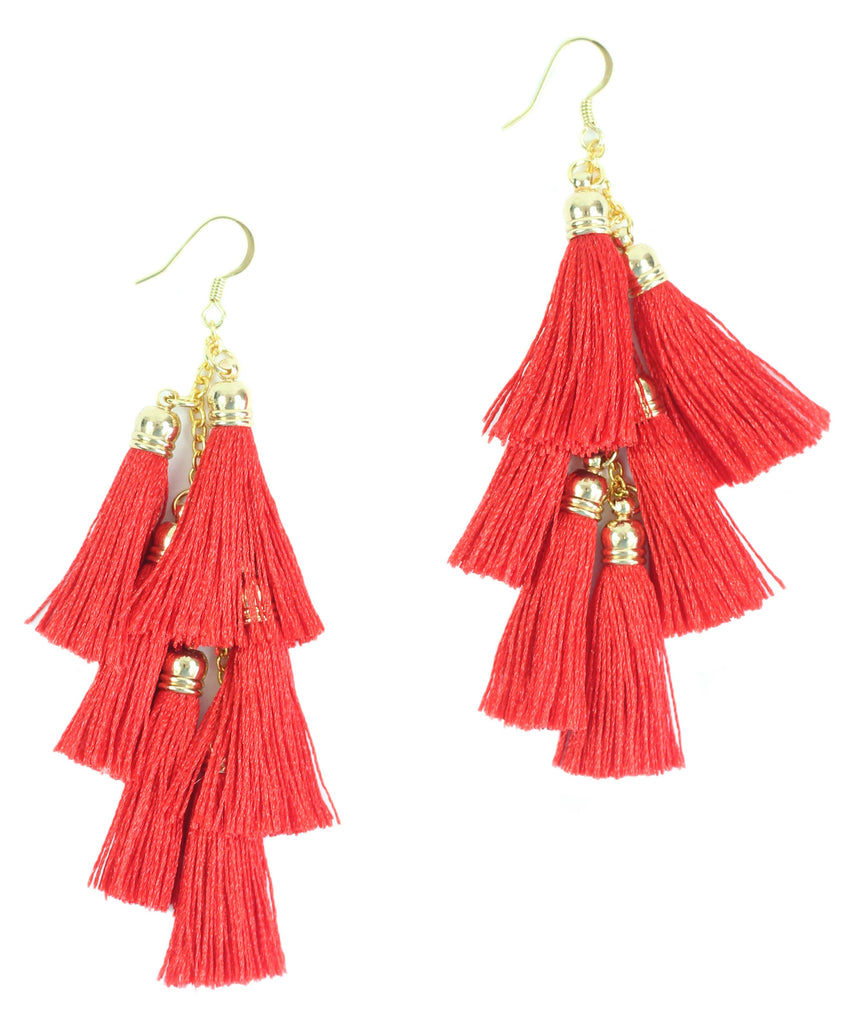 Bourbon and Boweties - The Kelly 2 Earrings Bourbon and Boweties - Bows and Arrows FSU Seminoles and UF Gators Women's Game Day Dresses and Apparel