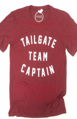 Tailgate Team Captain Game Day Tee Tee Kickoff Couture - Bows and Arrows FSU Seminoles and UF Gators Women's Game Day Dresses and Apparel