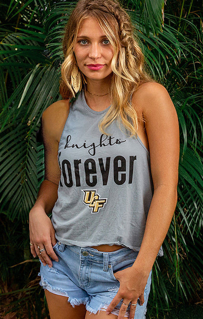 The Rachel Forever Knights Crop Tank