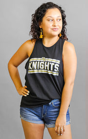 The Lauren Racerback UCF Knights Relaxed Tank