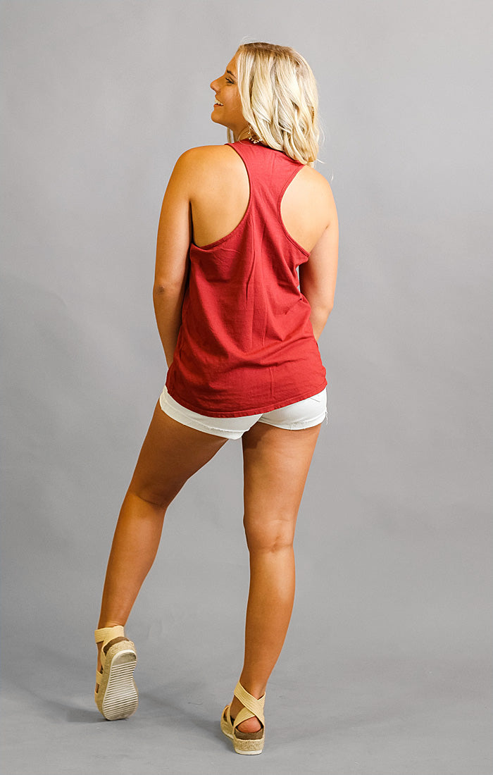 The Lauren Vintage Florida State Racerback Relaxed Tank