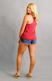 The Lauren Vintage Racerback Seminoles Relaxed Tank