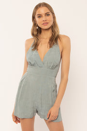 The Leila Slate Romper (4463603417136)
