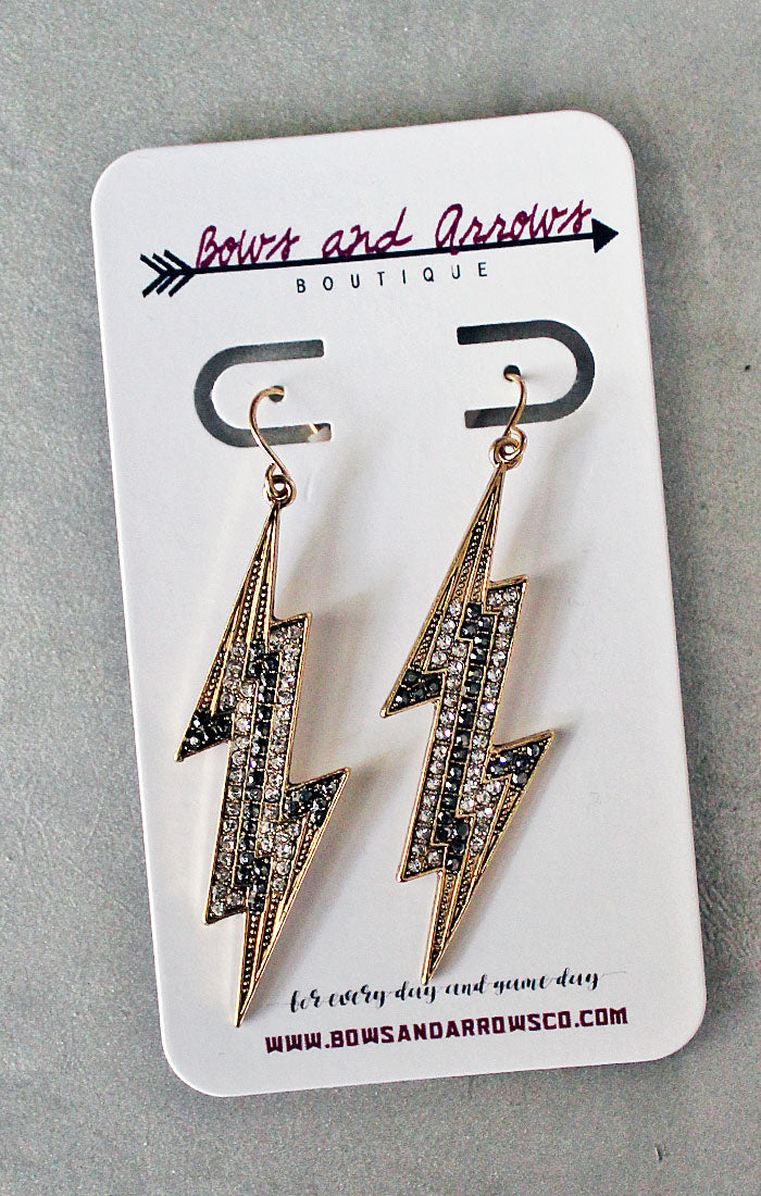 The Crystal Lighting Earrings (4353596555312)
