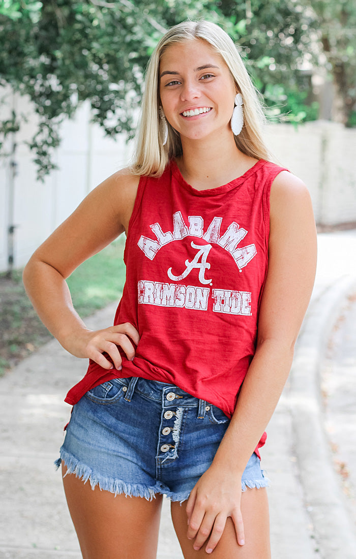 The Lindsay Classic Alabama Muscle Tank