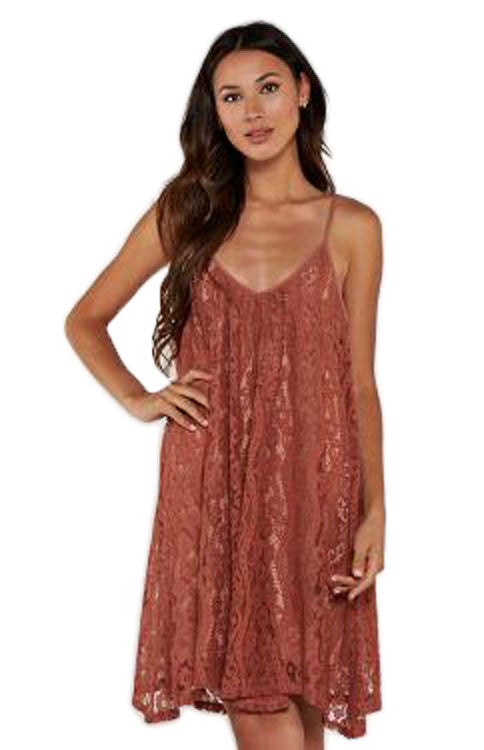 All Over Lace Cami Dress - Spice Dress Love Stitch - Bows and Arrows FSU Seminoles and UF Gators Women's Game Day Dresses and Apparel