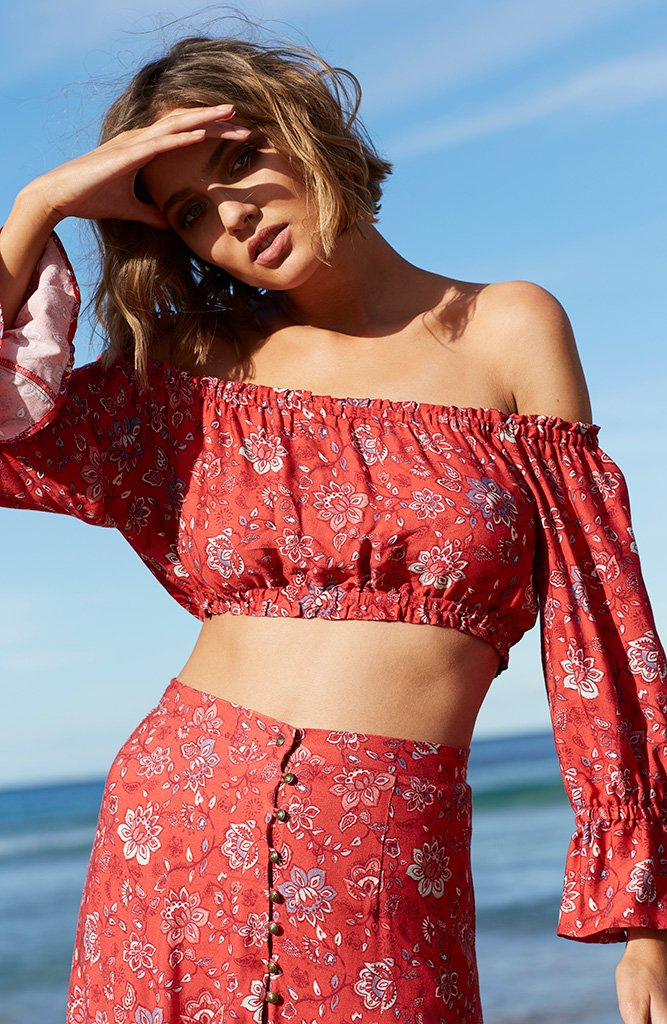 The Lucia Off Shoulder Top