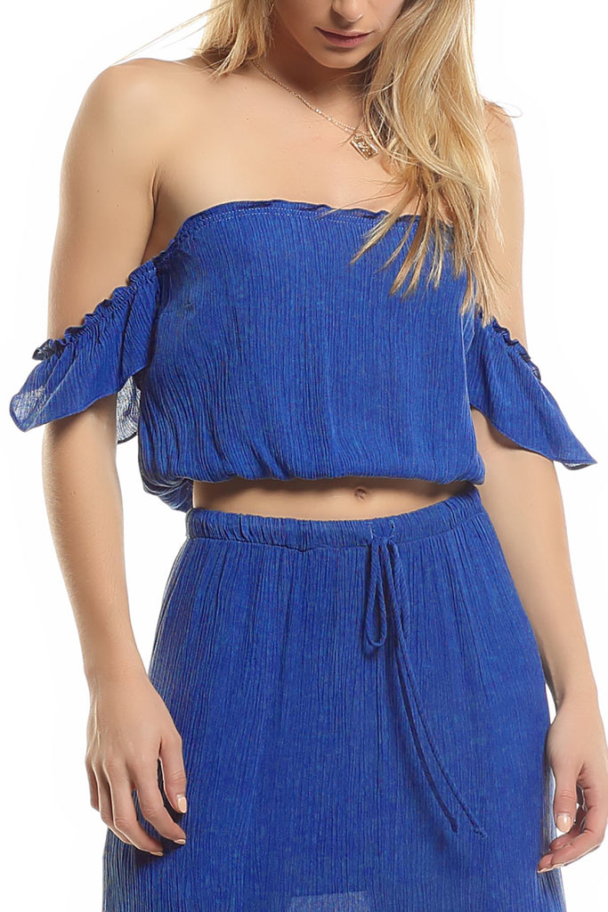 Maggie May Top - Blue