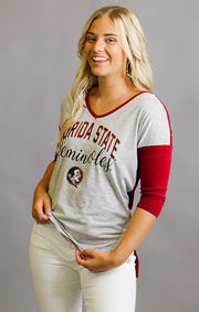 Florida State Meet Your Match V-Neck Tee