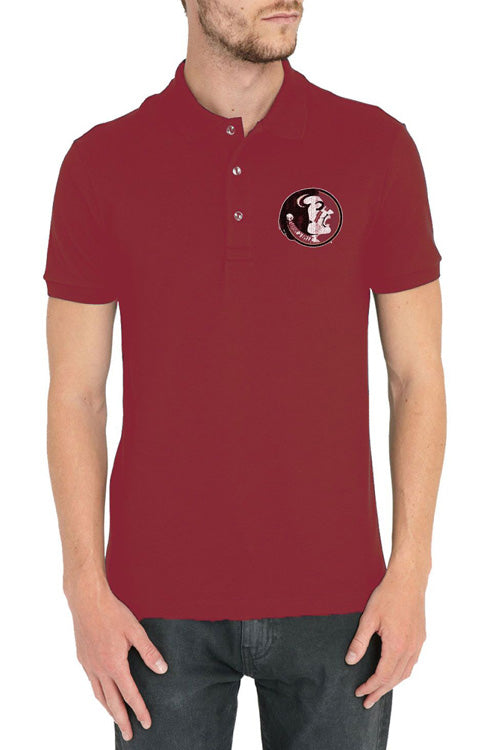 Men's Classic Seminole Polo - Garnet