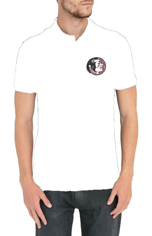 Men's Classic Seminole Polo - White