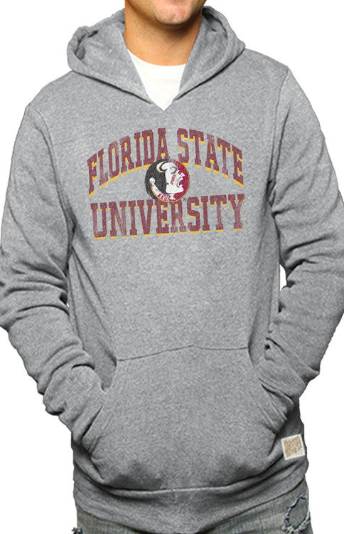 Men's Florida State University Hoodie Hoodie Retro Brand - Bows and Arrows FSU Seminoles and UF Gators Women's Game Day Dresses and Apparel (7329052545)