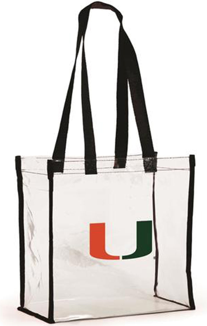 Miami Clear Stadium Tote (582530269217)