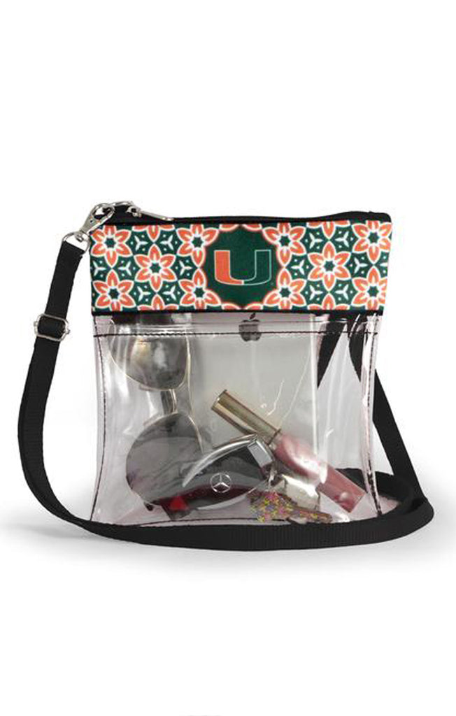 Miami Clear Game Day Crossbody