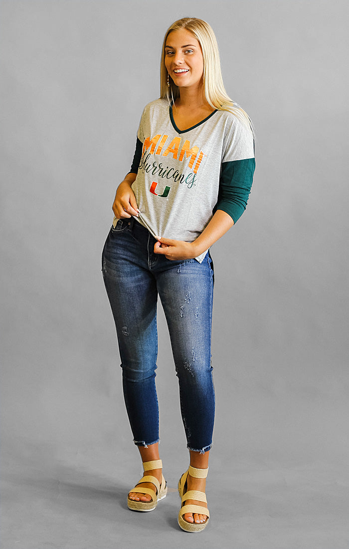 Miami Meet Your Match V-Neck Tee