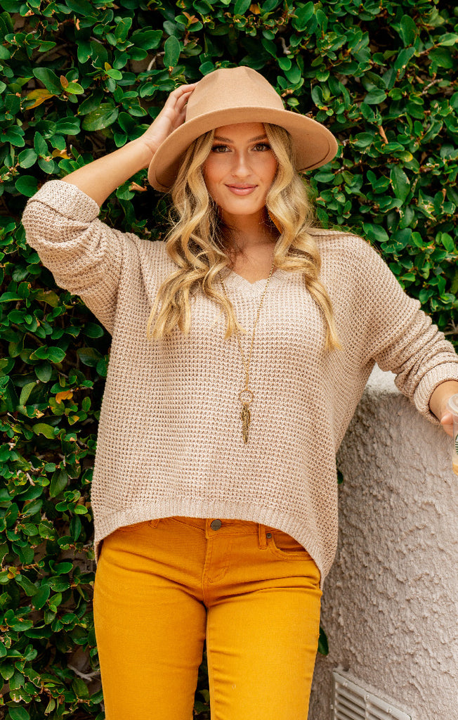 The Grayson Knit Jumper (Natural)