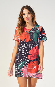 The I'll Be Around Tee Dress (4360424718384)