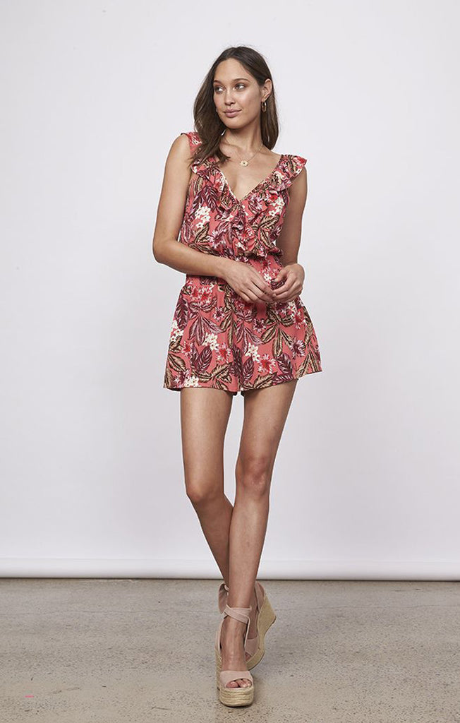 Tropical Islands Playsuit