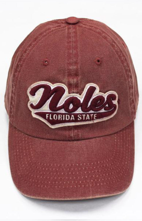 'Noles Vintage Hat Baseball Hat Kickoff Couture - Bows and Arrows FSU Seminoles and UF Gators Women's Game Day Dresses and Apparel