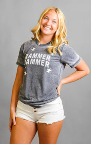 The Rammer Jammer All Star Acid Wash Tee