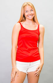 The Longboat Cami - Red (4446845730864)