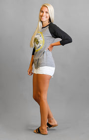 The Riley Vintage UCF Circle Baseball Tee