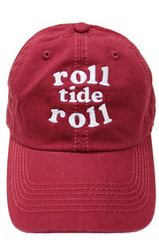 Roll Tide Roll Baseball Hat (582985482273)