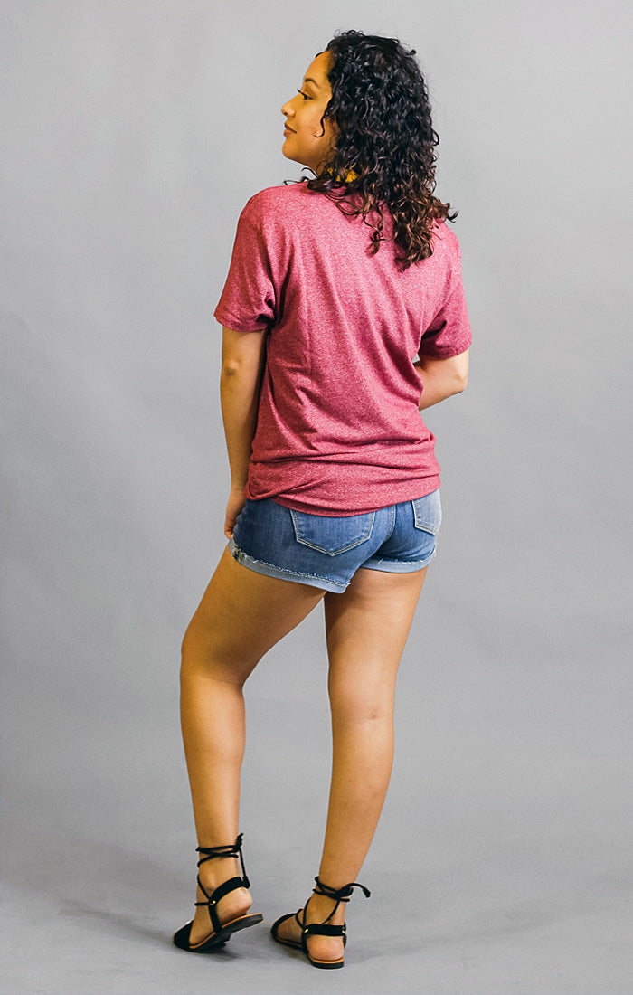 The Seminole Mock Twist Boyfriend Tee