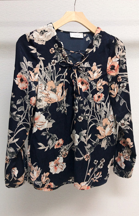 Sweet Thing Floral Blouse (351929499681)