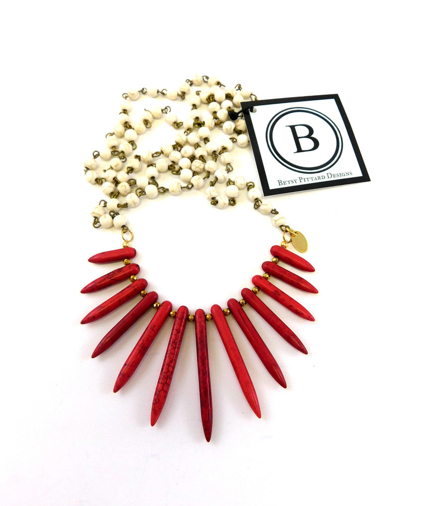 The Holly Spiked Necklace