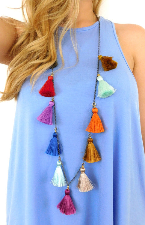 The Peggy Necklace Jewelry Betsy Pittard - Bows and Arrows FSU Women's Game Day Dresses and Apparel