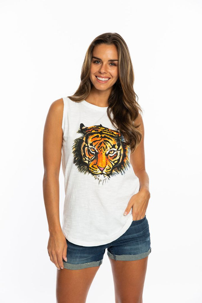 The Tiger Muscle Tank