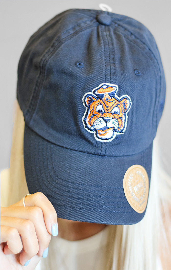Auburn Throw Back Hat