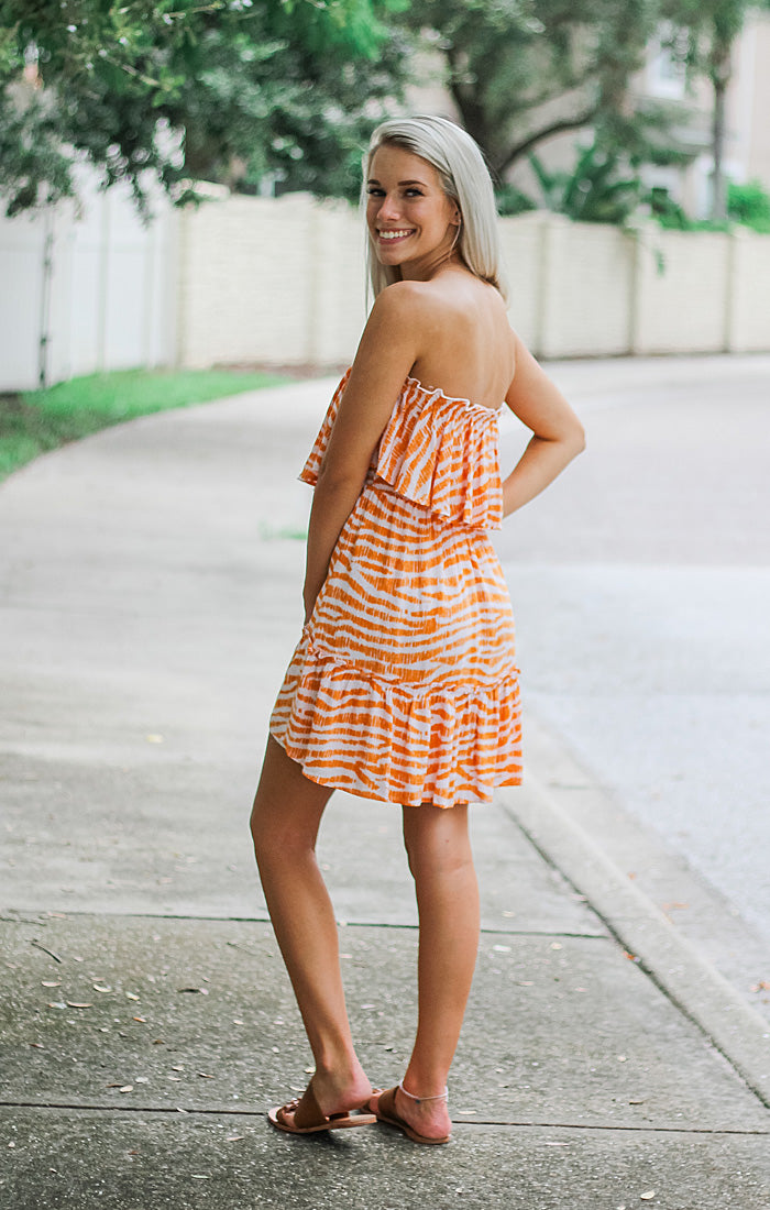 The Tiger Stripe Game Day Dress