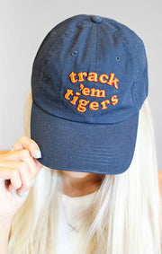 The Track 'Em Tigers Fight Baseball Hat