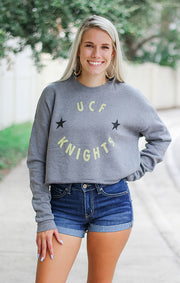 The UCF Winner's Circle Crop Pullover