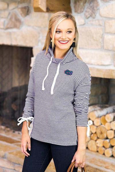 Florida Gators Sunday Funday Funnel Neck Knit Top