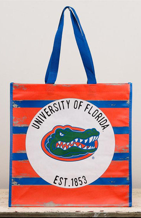University of Florida Tailgating Reusable Tote Bag Tote Bag Glory Haus - Bows and Arrows FSU Seminoles and UF Gators Women's Game Day Dresses and Apparel