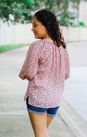 The Rafferty Chiffon Blouse