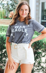 The War Eagle All Star Acid Wash Tee
