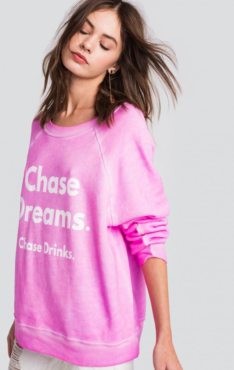 Love the Chase Sommer Sweater Graphic Sweater Wildfox - Bows and Arrows FSU Seminoles and UF Gators Women's Game Day Dresses and Apparel