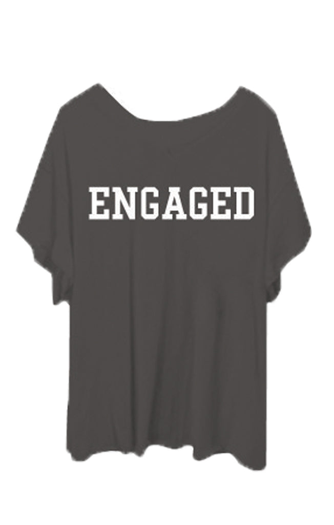 Engaged Romeo V-Neck