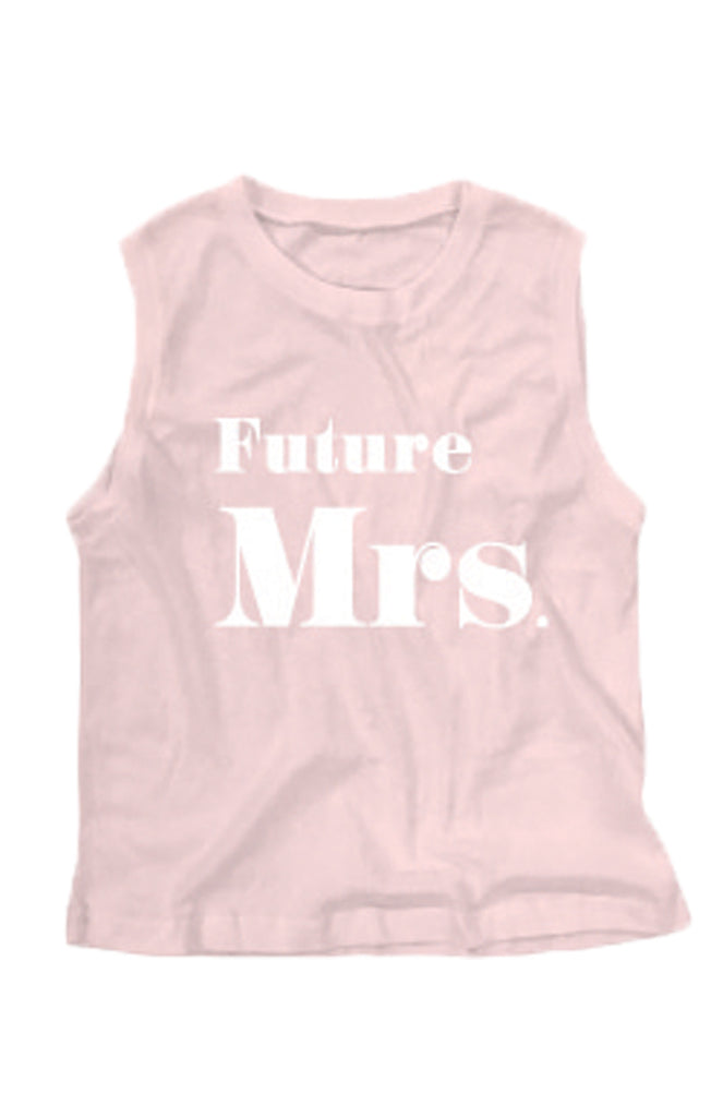Future Mrs. Vintage Muscle Tank