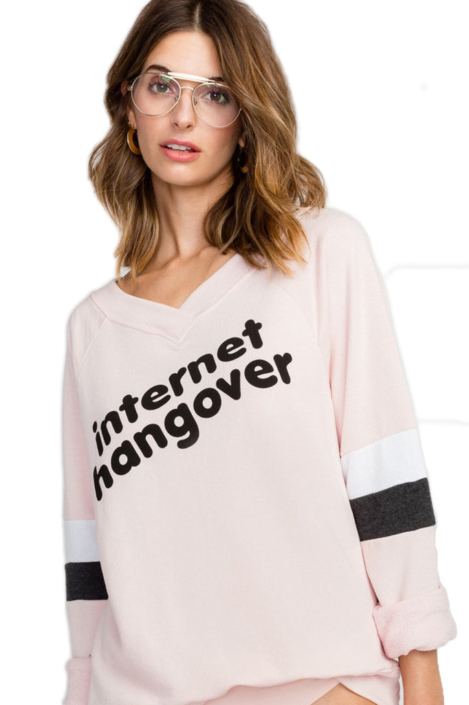 Internet Hangover Gidget Beach Jumper Graphic Sweater Wildfox - Bows and Arrows FSU Seminoles and UF Gators Women's Game Day Dresses and Apparel