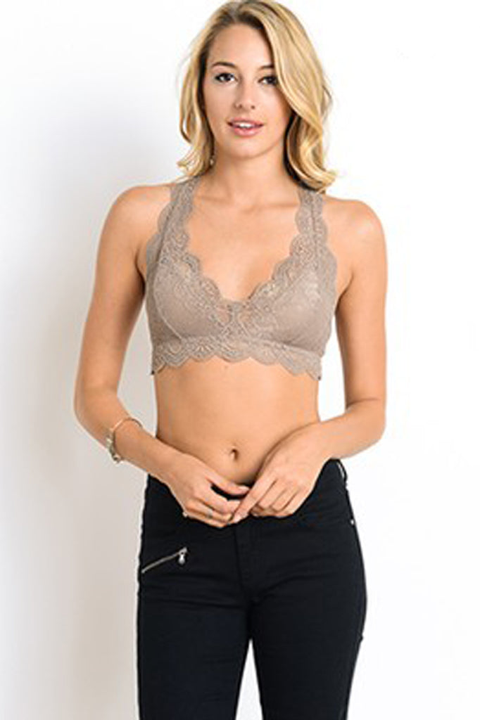 9e63c3f932ddee Cocoa Racerback Bralette Bralette Wishlist - Bows and Arrows FSU Seminoles  and UF Gators Women s Game