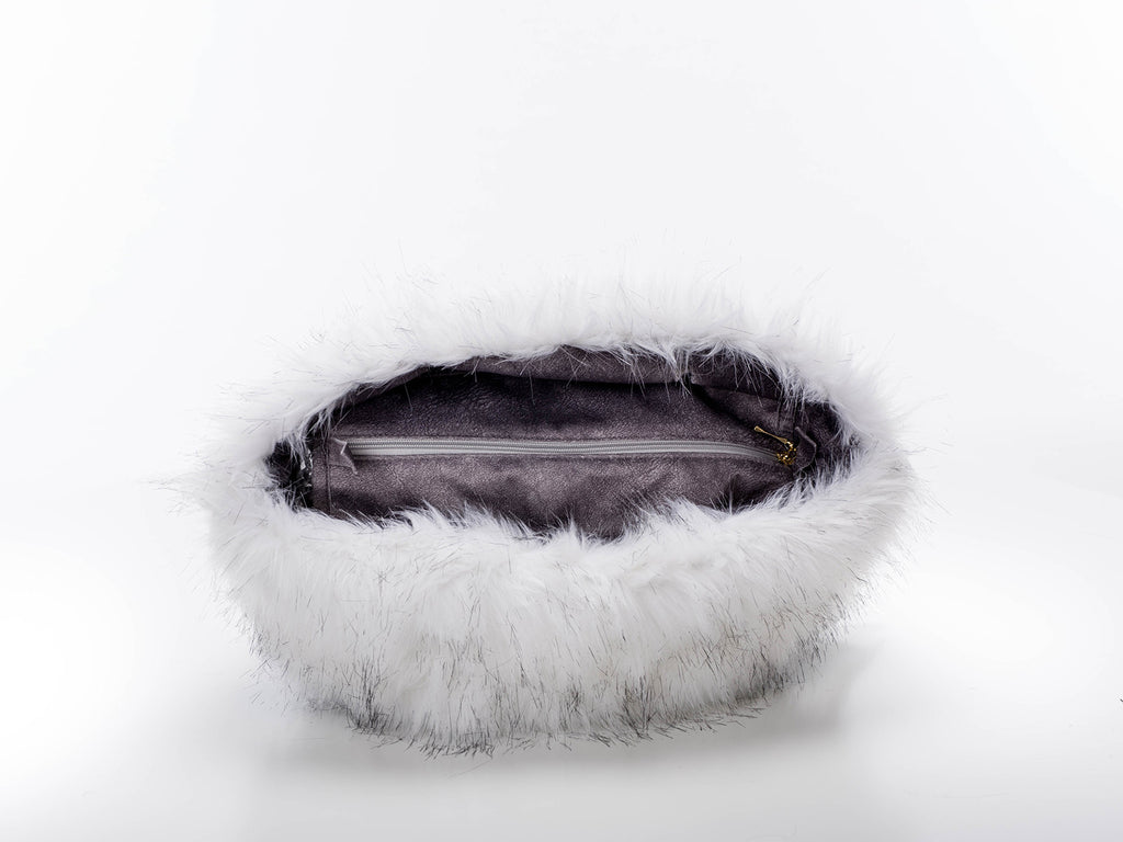 Fur Trim - Black Tipped Fox