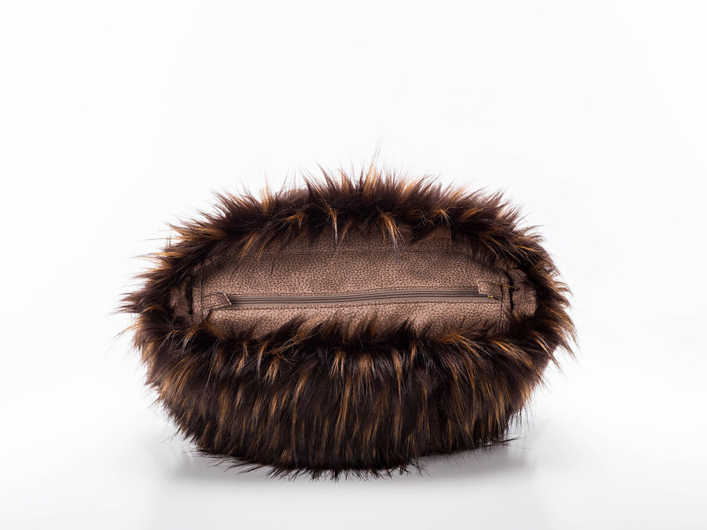 Fur Trim - Brown Jenot