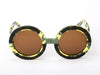 Sobo Sunglasses Camo Frame With Brown Lens
