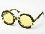 Sobo Sunglasses Camo Frame With Yellow Lens