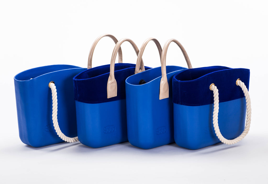 Snorkel Blue Special Set With Nude Handles